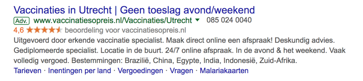google ad vor