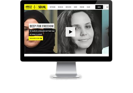 Amnesty International site