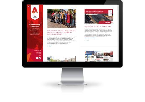 City marketing site