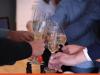 Teamfoto champagne
