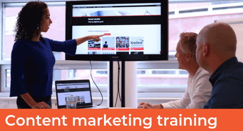 Trainingen Website - GRID - Content marketing