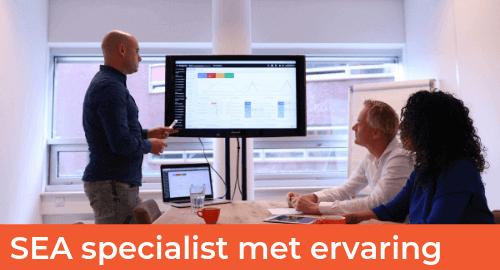Vacatures Website - GRID - SEA specialist met ervaring