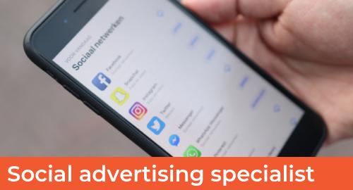 vacature social advertising specialist