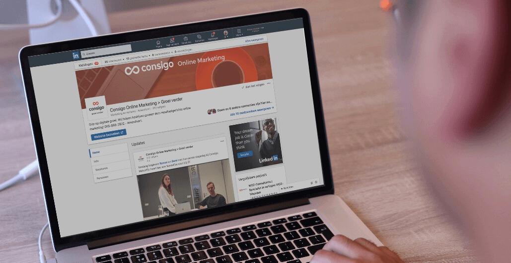 LinkedIn marketing training Consigo