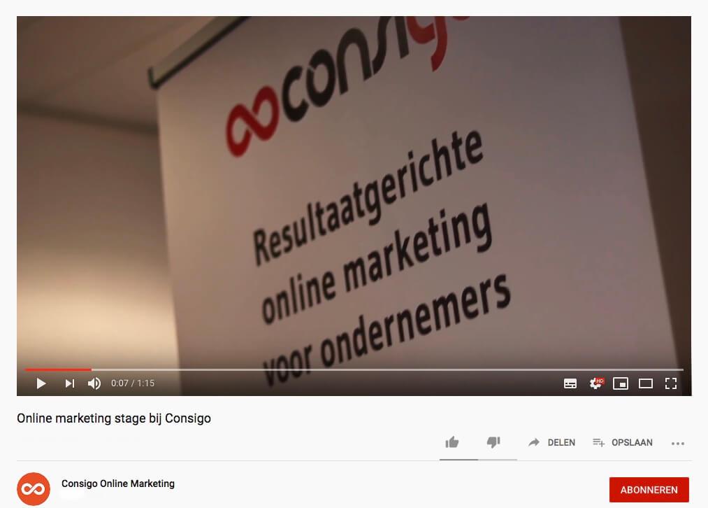 video marketing Consigo