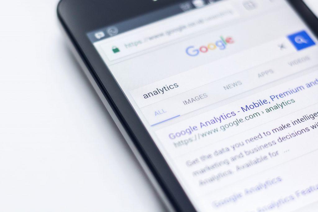 andere doeleinden google analytics mobiel
